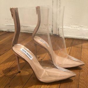 Steve Madden Veil Clear Heels